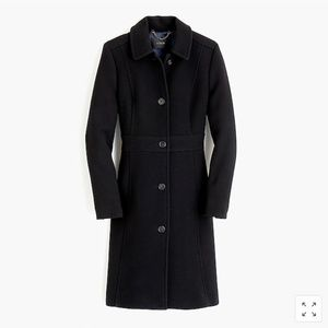 Italian double-cloth wool lady day coat Thinsulate